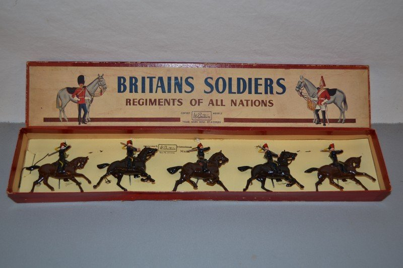 """1: Britains Soldiers Regiments of all Nations #2075 """"7t"""