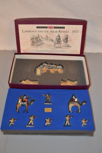 """8: Britains limited edition """"Lawrence and the Arab Revo"""