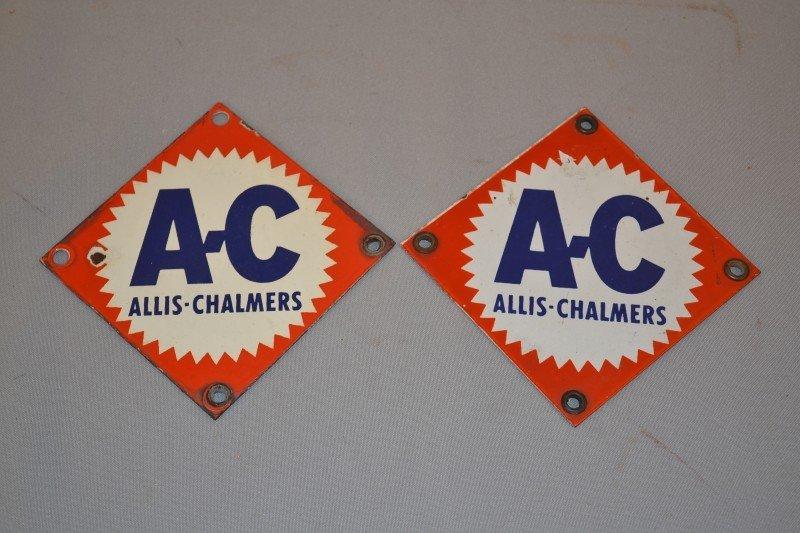 14: 2-AC Allis-Chalmers (gear logo), SSP signs, 5.5x5.5