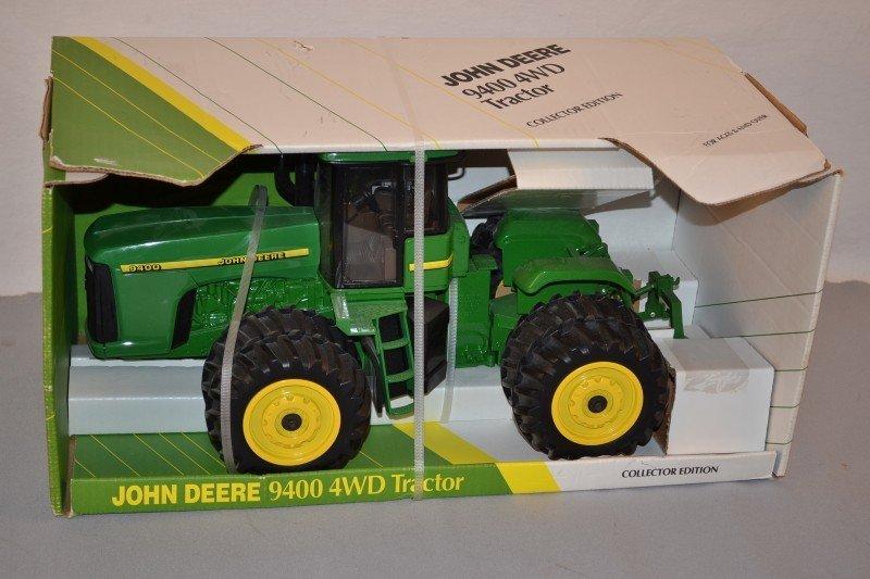19: John Deere Collector Edition 9400 4WD Tractor NIB,
