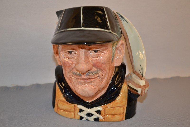 """22: Royal Doulton Toby Mug """"Yachtsman"""" 1970 #D6622, 7.5"""