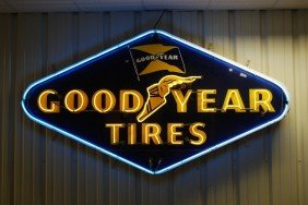 Goodyear Tires With Winged Footed Logo, SSP Diecut