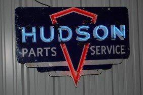 Hudson Parts Service (rare Size) SSP Diecut Neon Si