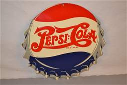 92: Pepsi-Cola cap shaped, rated 8.75,  SST embossed si