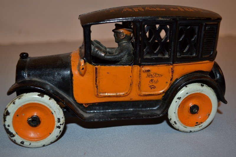 """135: Arcade Yellow Cab Taxi Bank, private label """"Zumste - 3"""