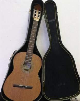 OSCAR SCHMIDT Six String Guitar and Case: