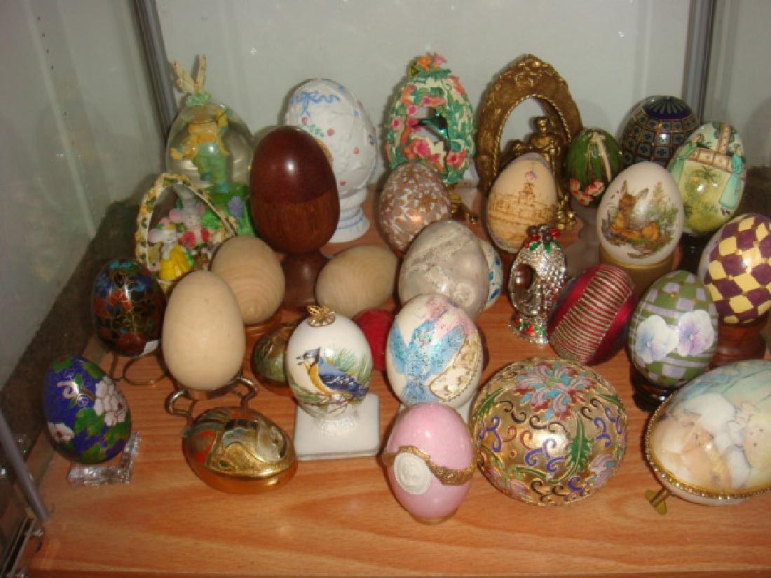 Twenty-Eight Assorted Eggs: