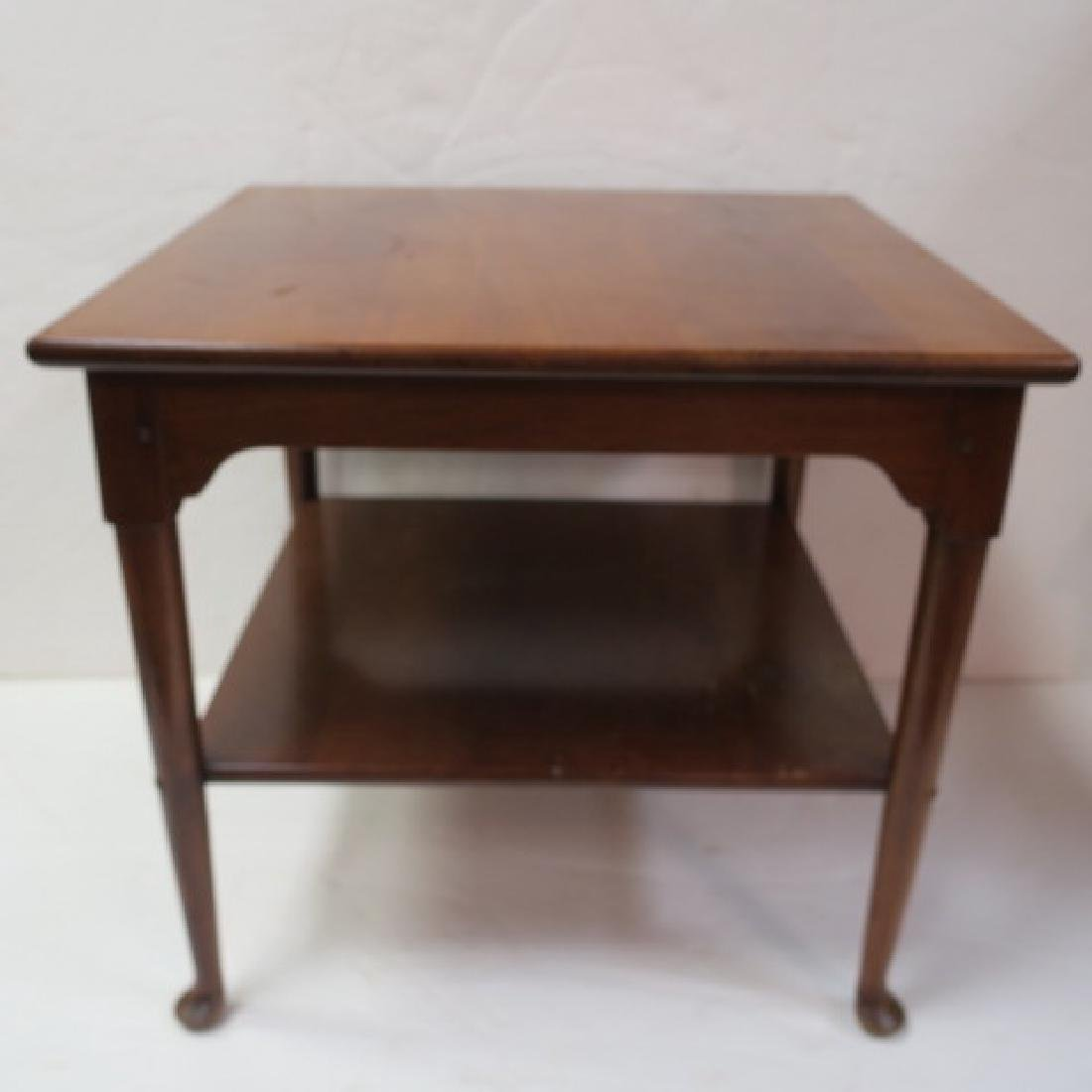 Two L&JG STICKLEY Cherry Valley End Tables: