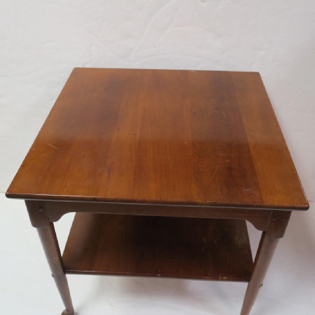 Two L&JG STICKLEY Cherry Valley End Tables: - 2