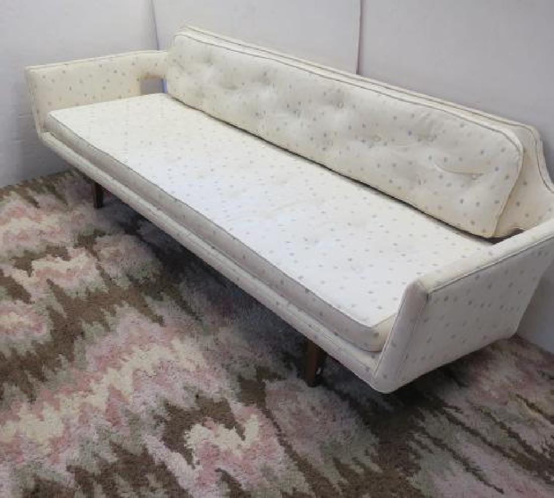 EDWARD WORMLEY, DUNBAR, Modernist Floating Back Sofa: - 2