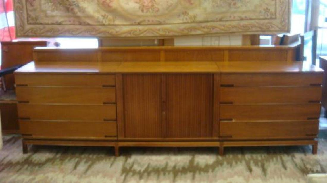 Handsome Three Section Mid Century Chests:
