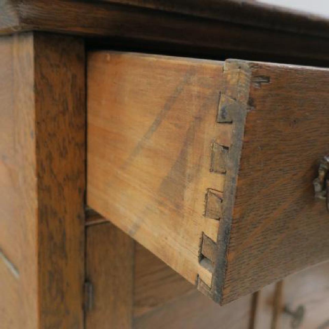 Oak Wash Stand - 4