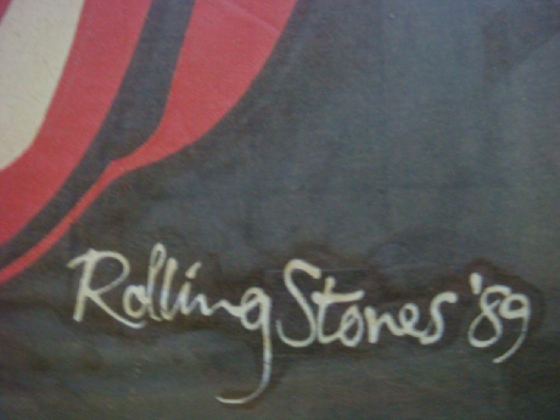 Framed 1989 ROLLING STONE Tee Shirt: - 3