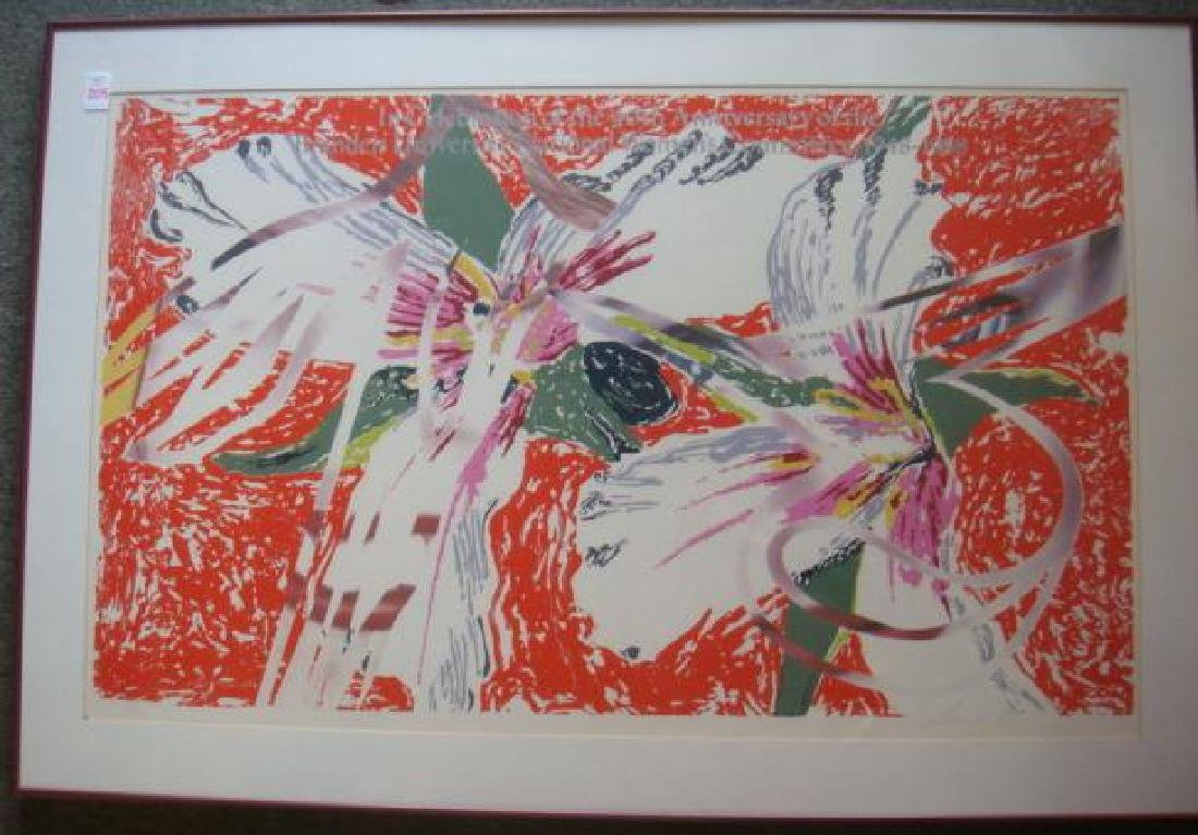 JAMES ROSENQUIST Brandeis Women's Committee P/S Print: