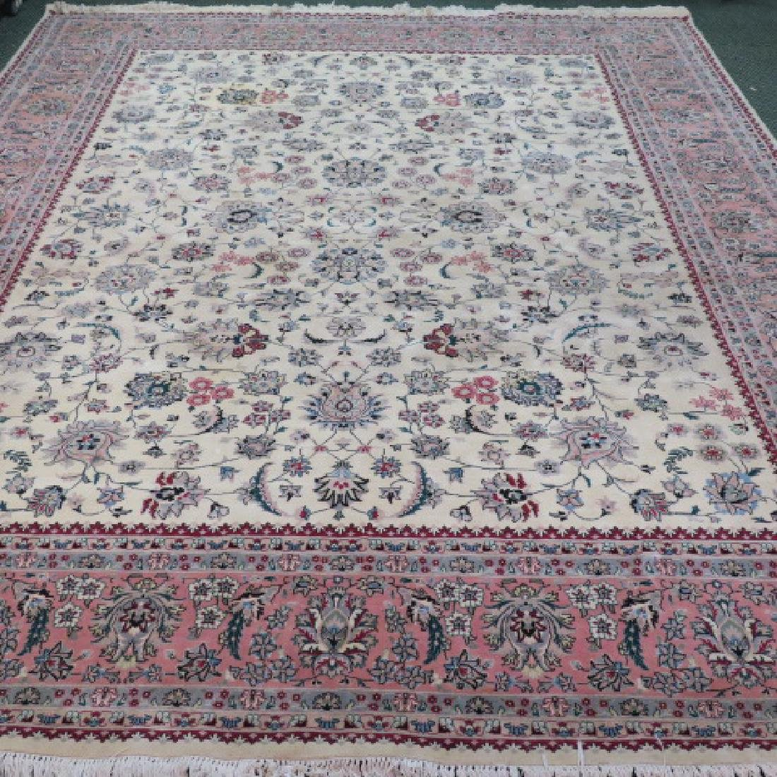 All Wool Safavieh Pakistani Power Loomed Rug: