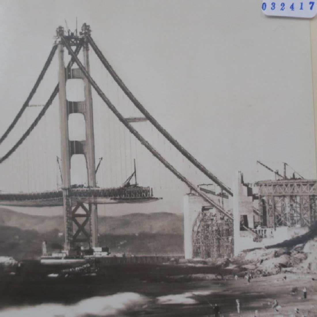 Black/White Photo 1936 Golden Gate Bridge: - 4
