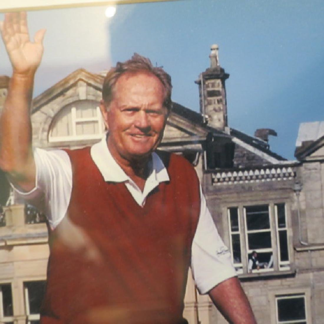 JACK Nicklaus AUTOGRAPH and St Andrews Picture: - 3