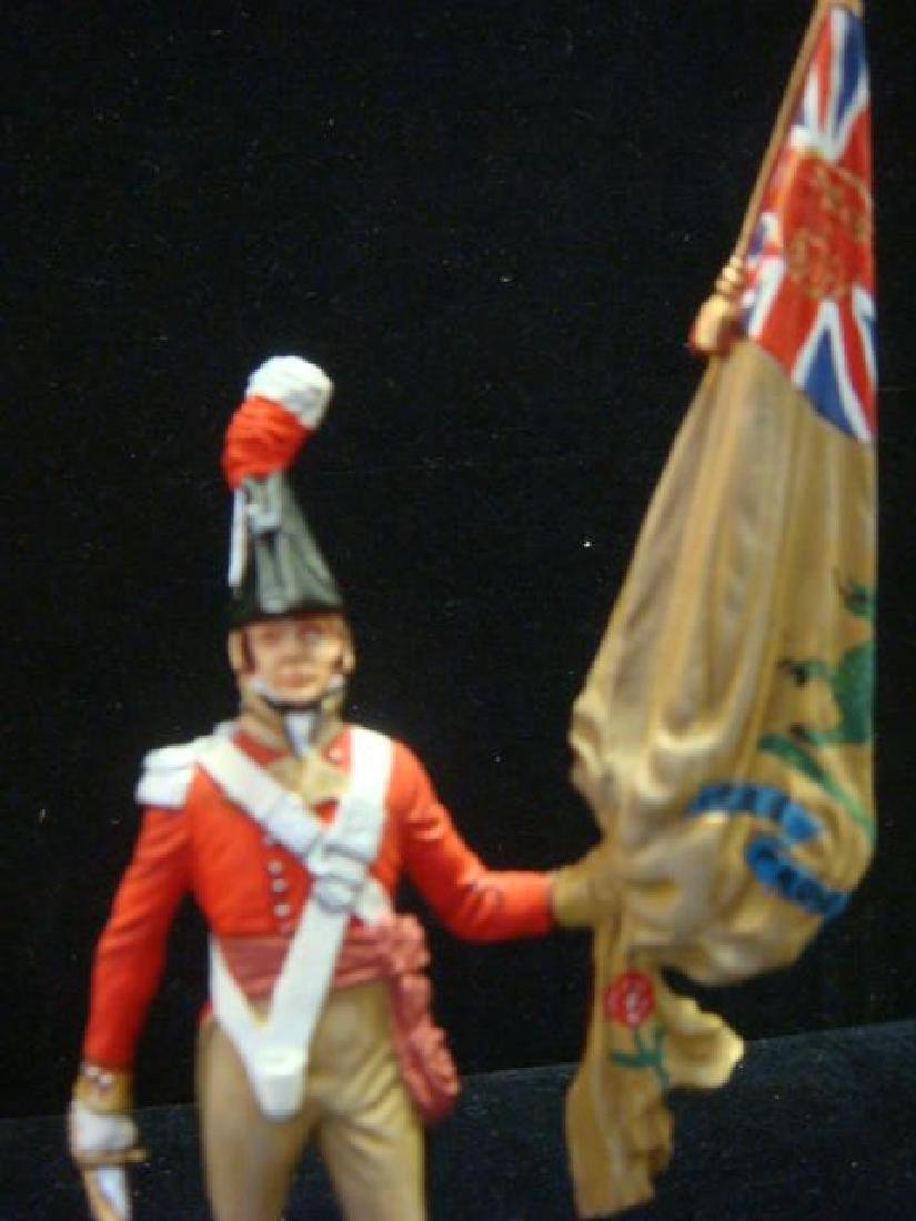 STADDEN Military Figurine 90mm REGIMENTAL COLORBEARER: - 2