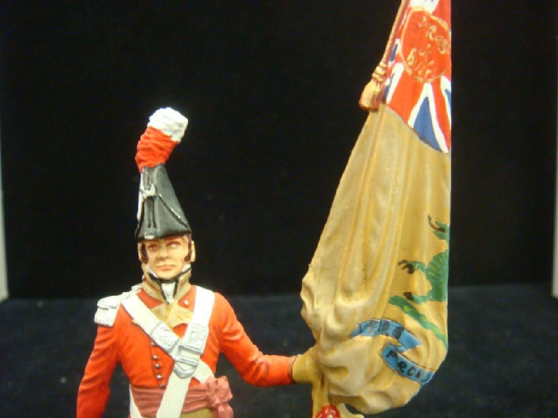 STADDEN Military Figurine 90mm REGIMENTAL COLORBEARER: - 4