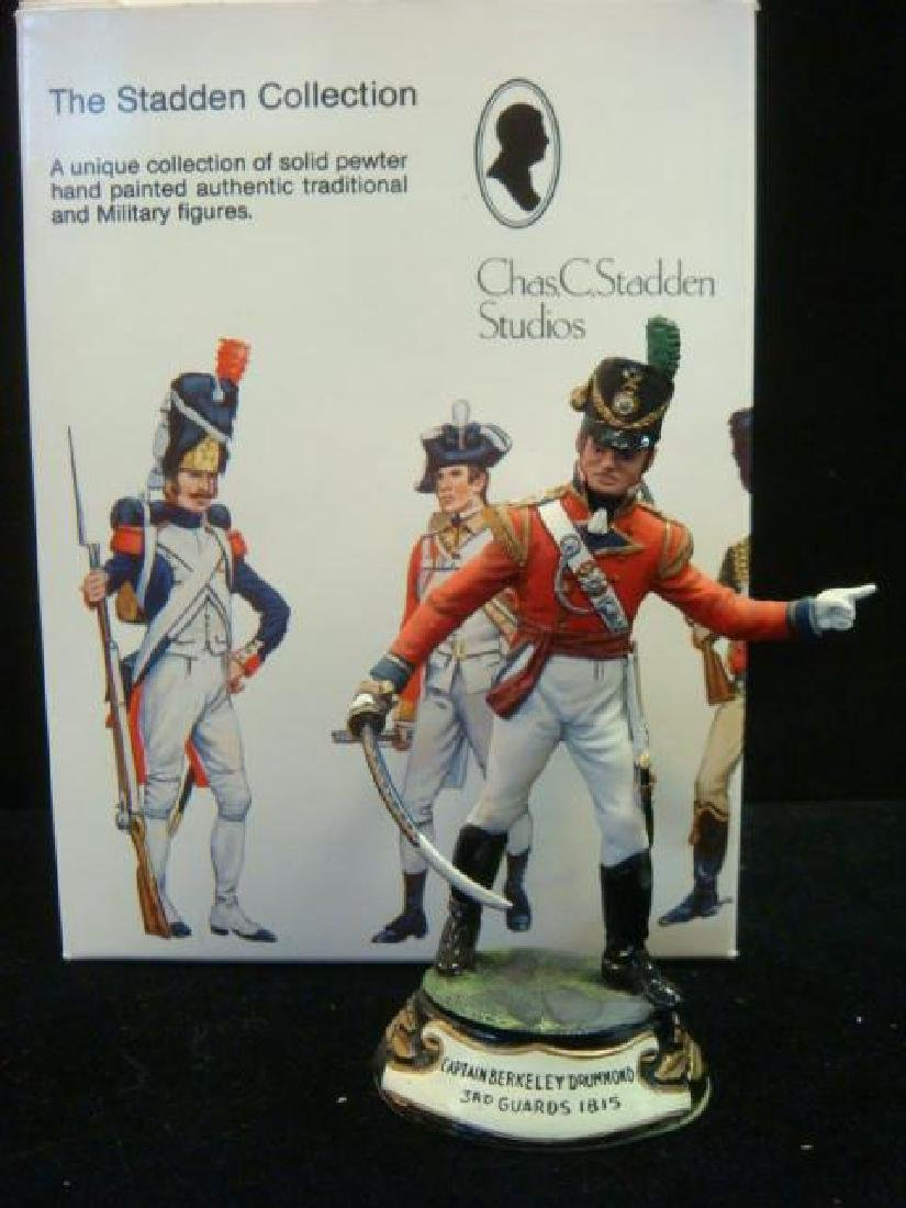 STADDEN Military Figurine 90mm CAPTAIN DRUMMOND GUARDS