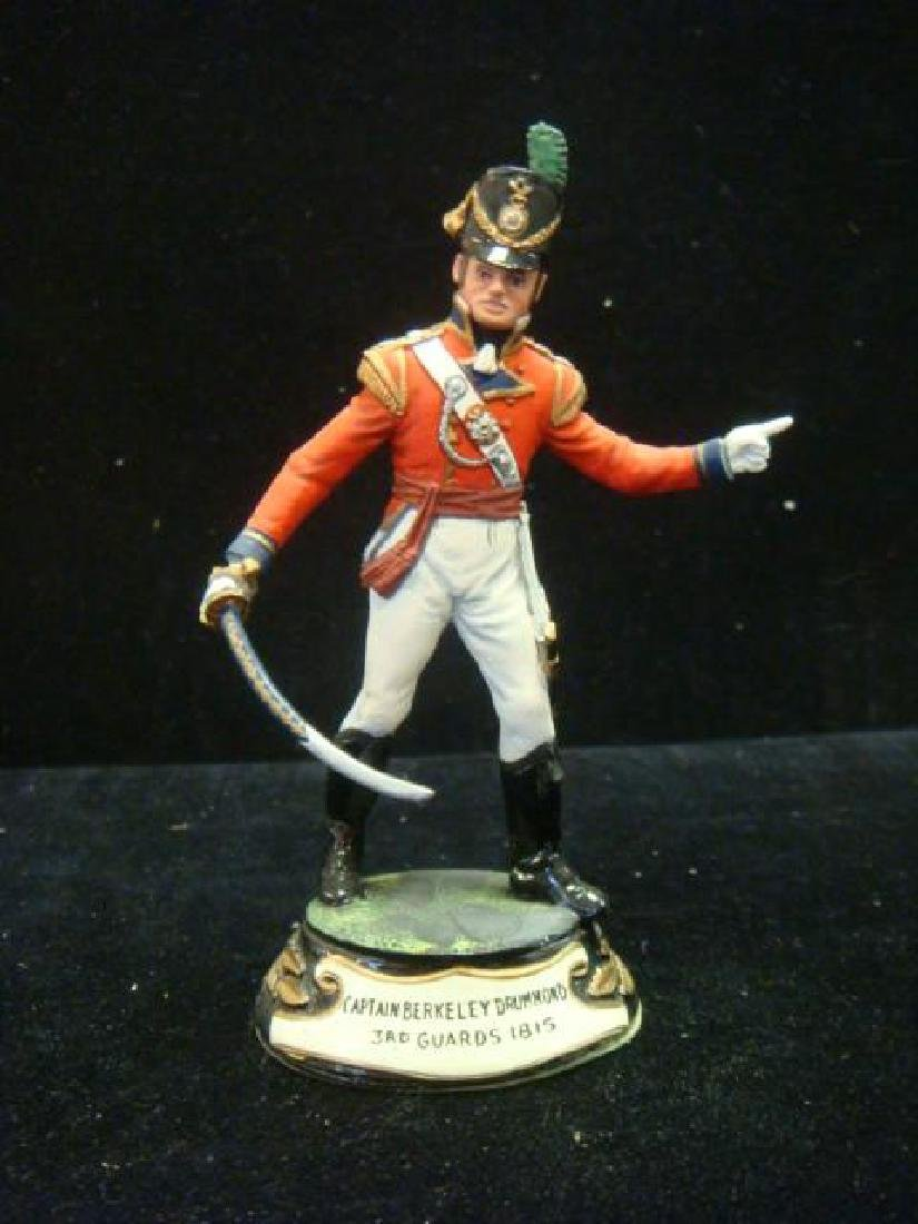 STADDEN Military Figurine 90mm CAPTAIN DRUMMOND GUARDS - 4