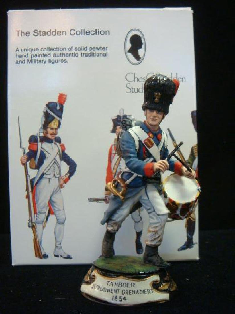 STADDEN Military Figurine 90mm TANBOER, 1st GRENADIERS