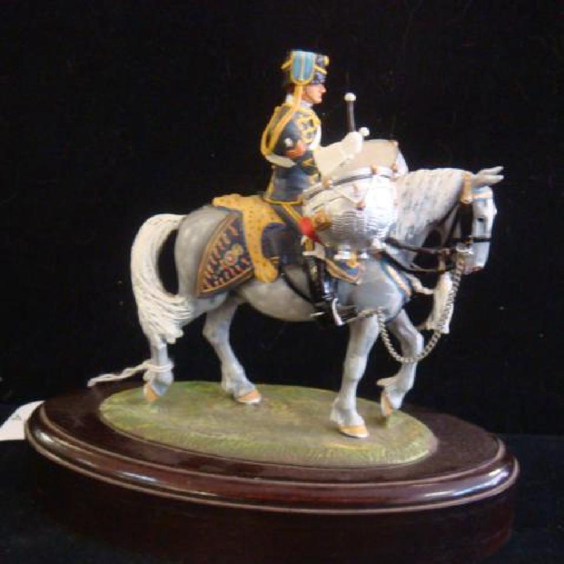 STADDEN Mounted Figurine, REGIMENTAL DRUM HORSE: - 5