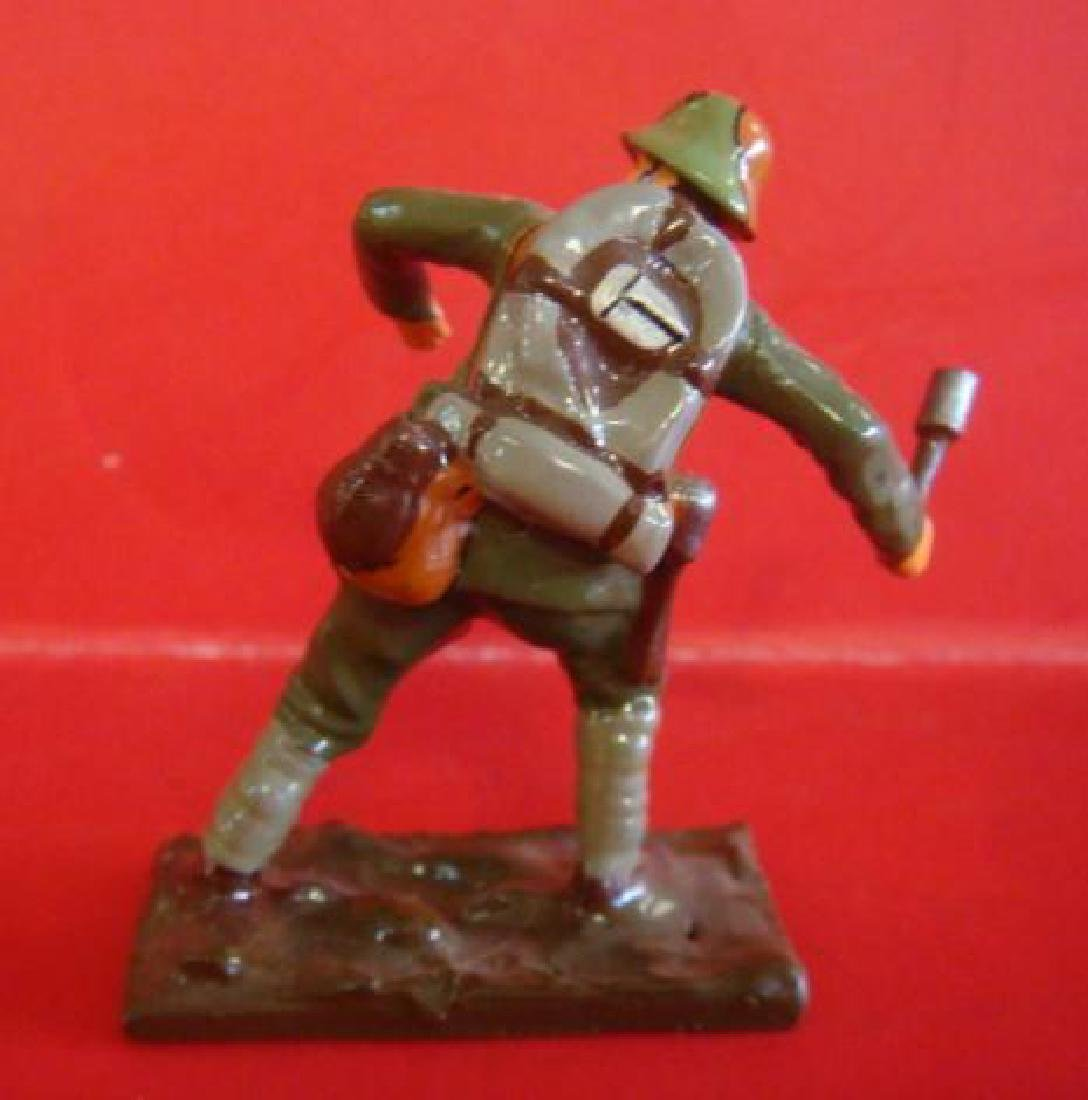 Two Hand painted 54mm Model Soldiers, Storm Troopers: - 3