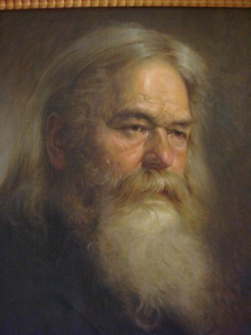 Portrait Study Signed OSKAR NICK WEIN: