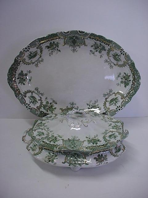 3: Wedgwood Porcelain Covered Casserole and Deep