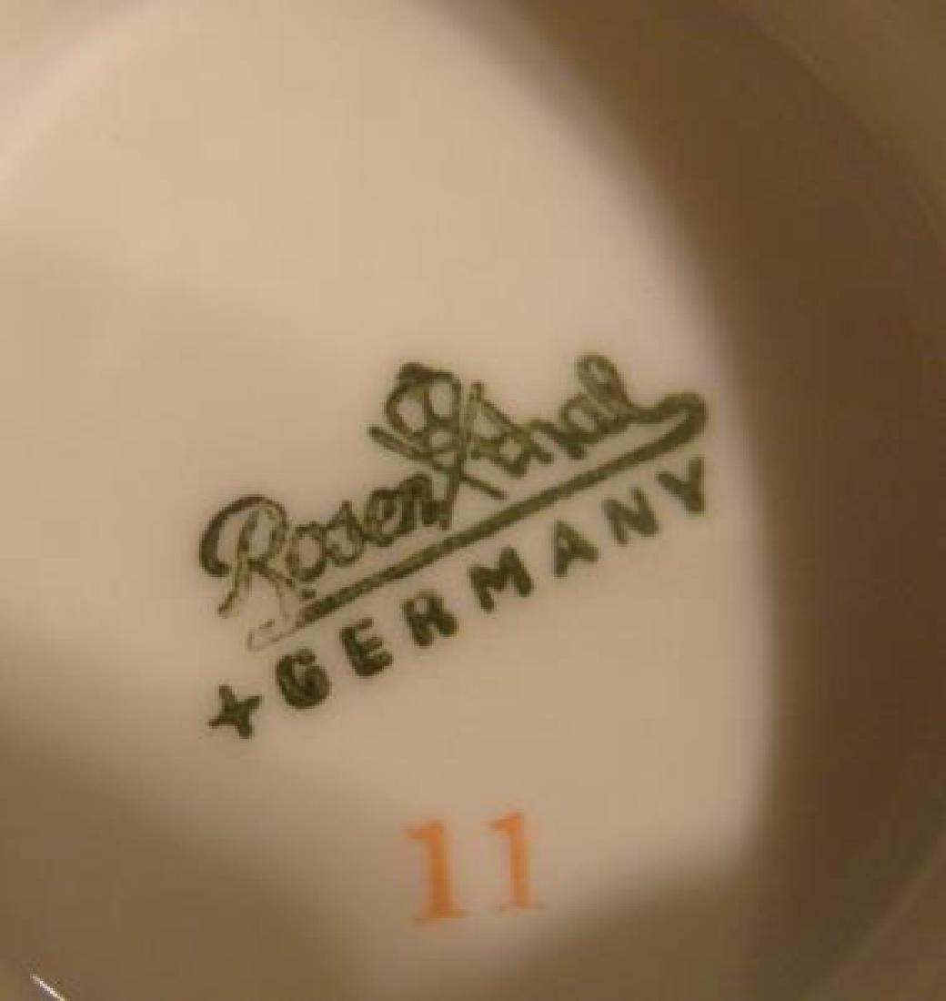 """Service for 8 ROSENTHAL """"Black Rose Dinnerware: - 3"""
