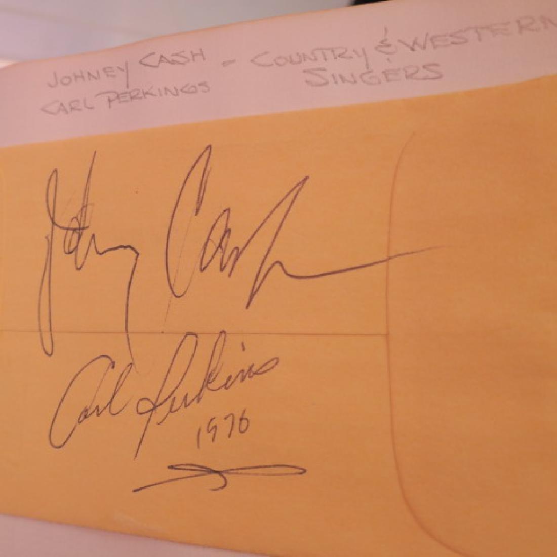 Autograph Album with 10+ Celebrity Autographs: - 3