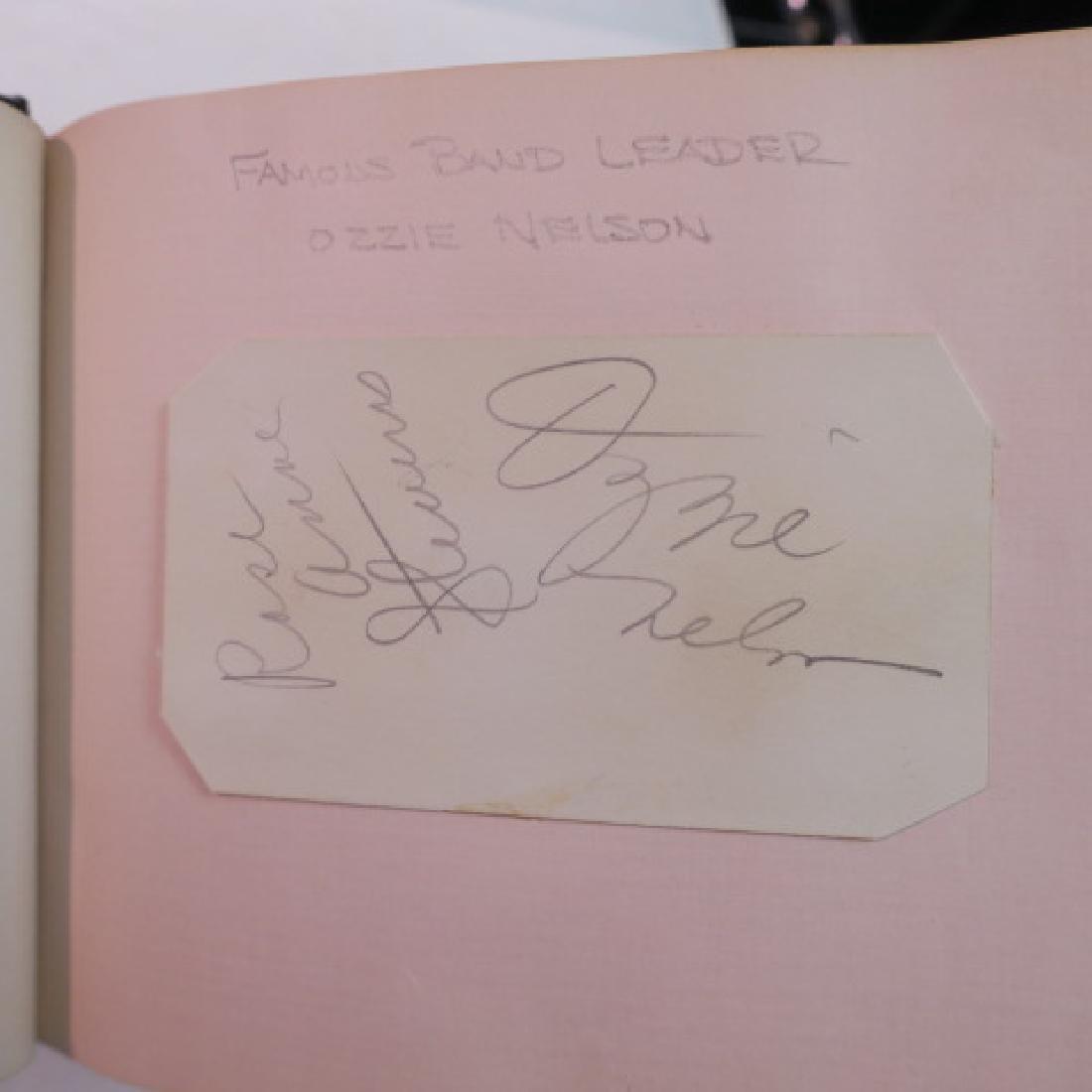 Autograph Album with 10+ Celebrity Autographs: - 5