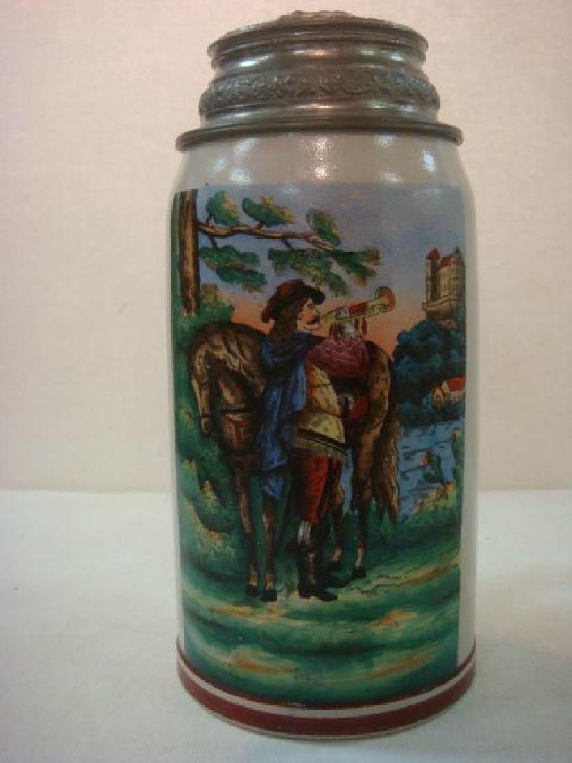 One Liter Stoneware Stein:
