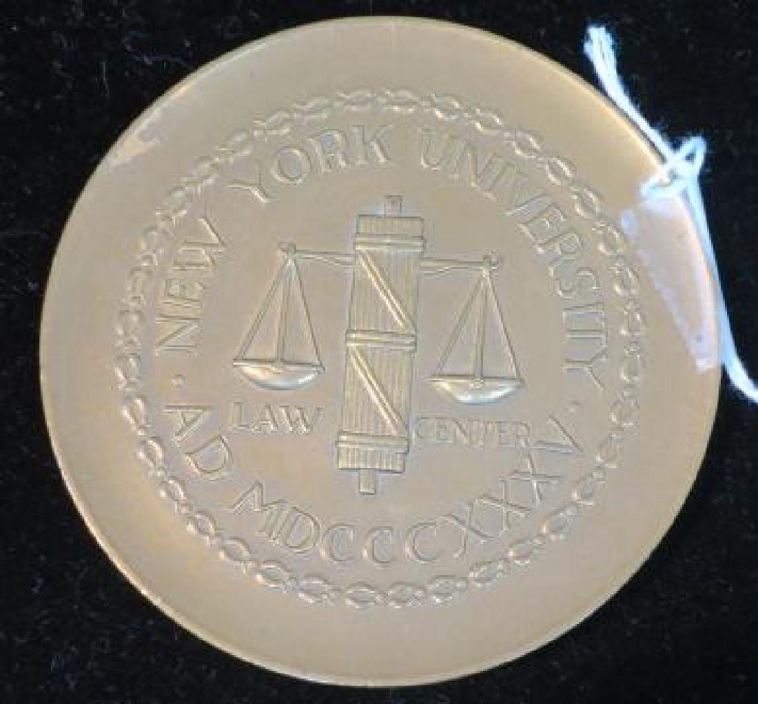 NEW YORK UNIVERSITY LAW CENTER, VANDERBILT HALL: - 2