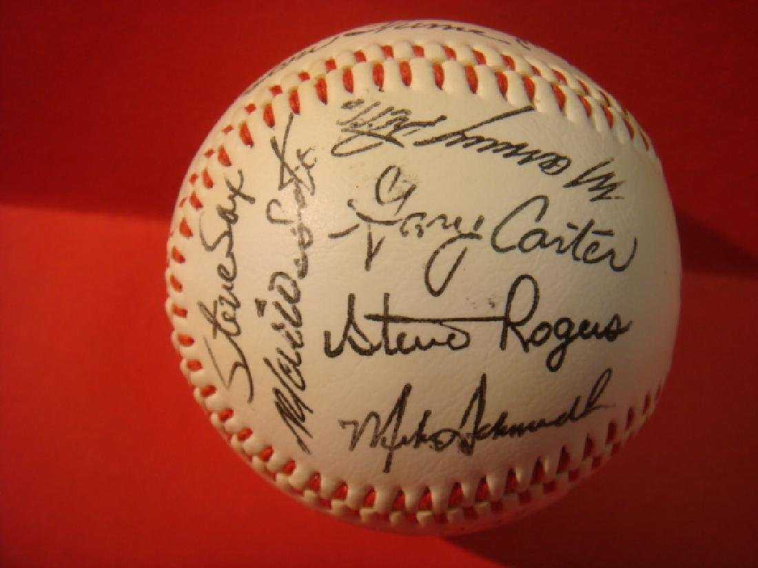 1982 National League All-Star Team Signed Ball:
