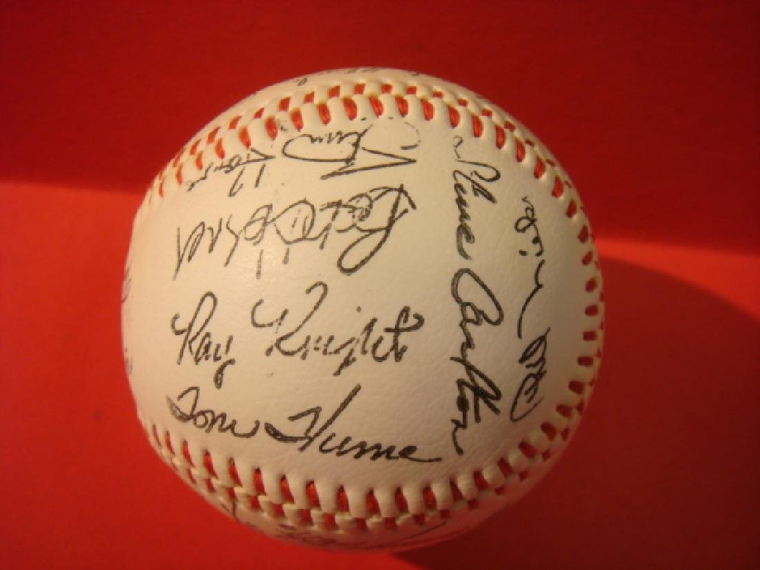 1982 National League All-Star Team Signed Ball: - 3