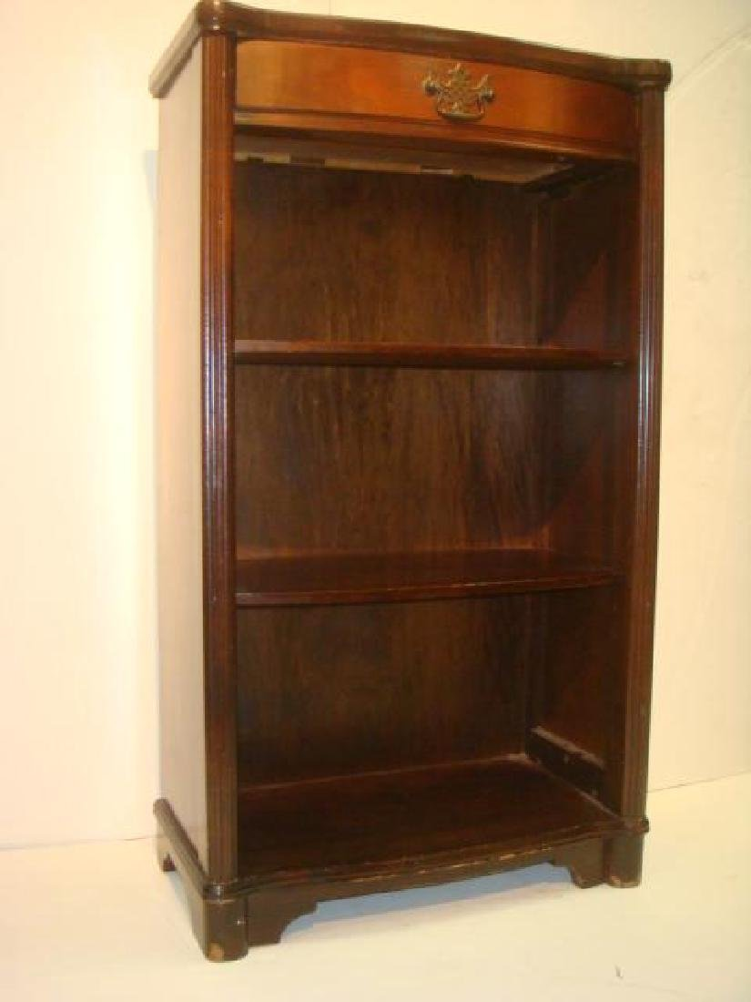 Mahogany Single Drawer Cabinet: