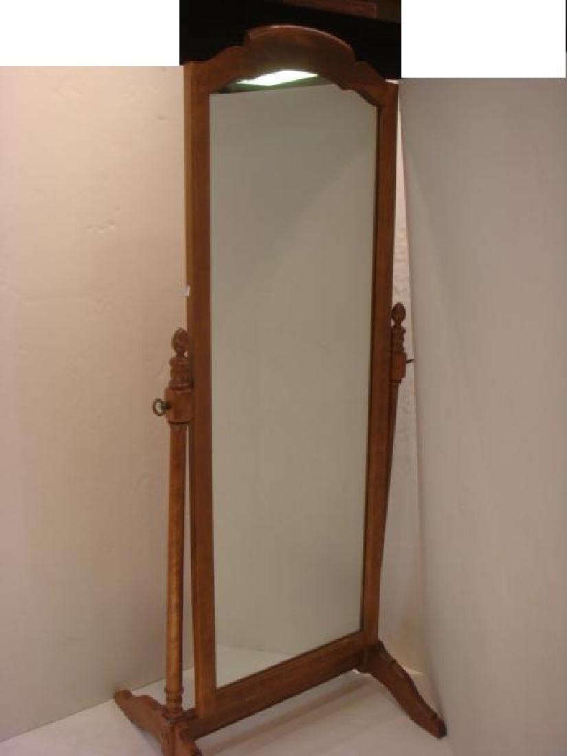 ETHAN ALLEN Classic Manor Cheval Mirror: