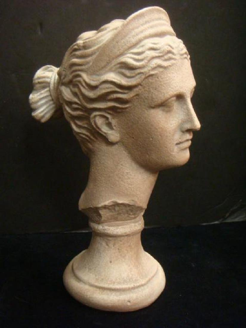 Plaster Bust of Diana the Roman Huntress: