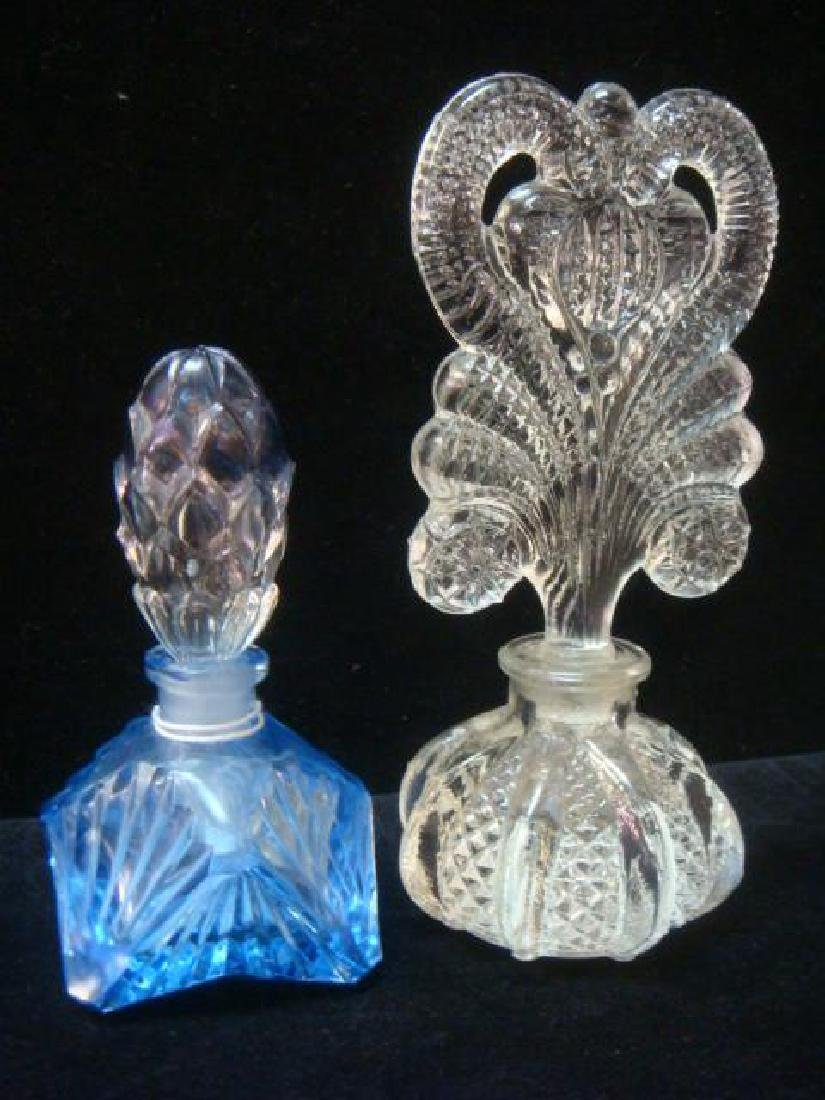 Art Deco and Vintage Glass Perfume Bottles: