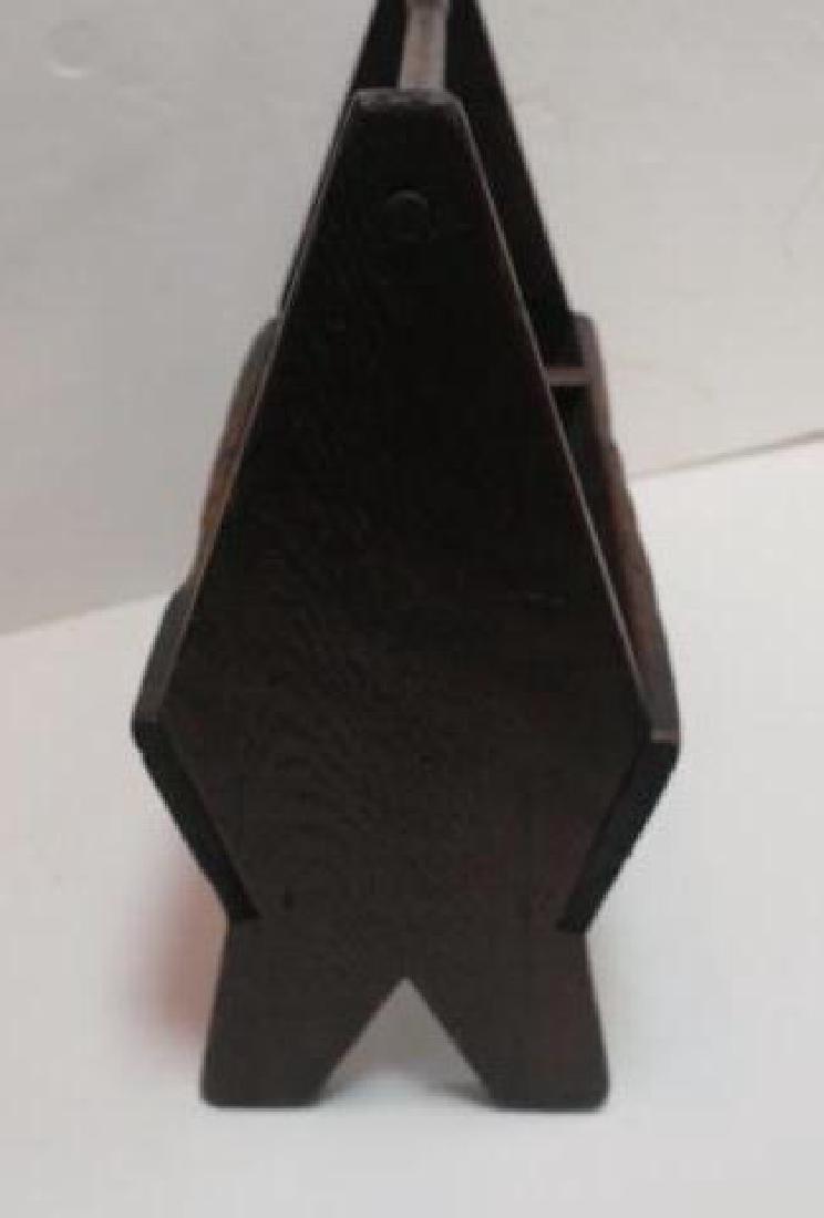 Handmade Primitive Workman's Tool Caddy: - 4