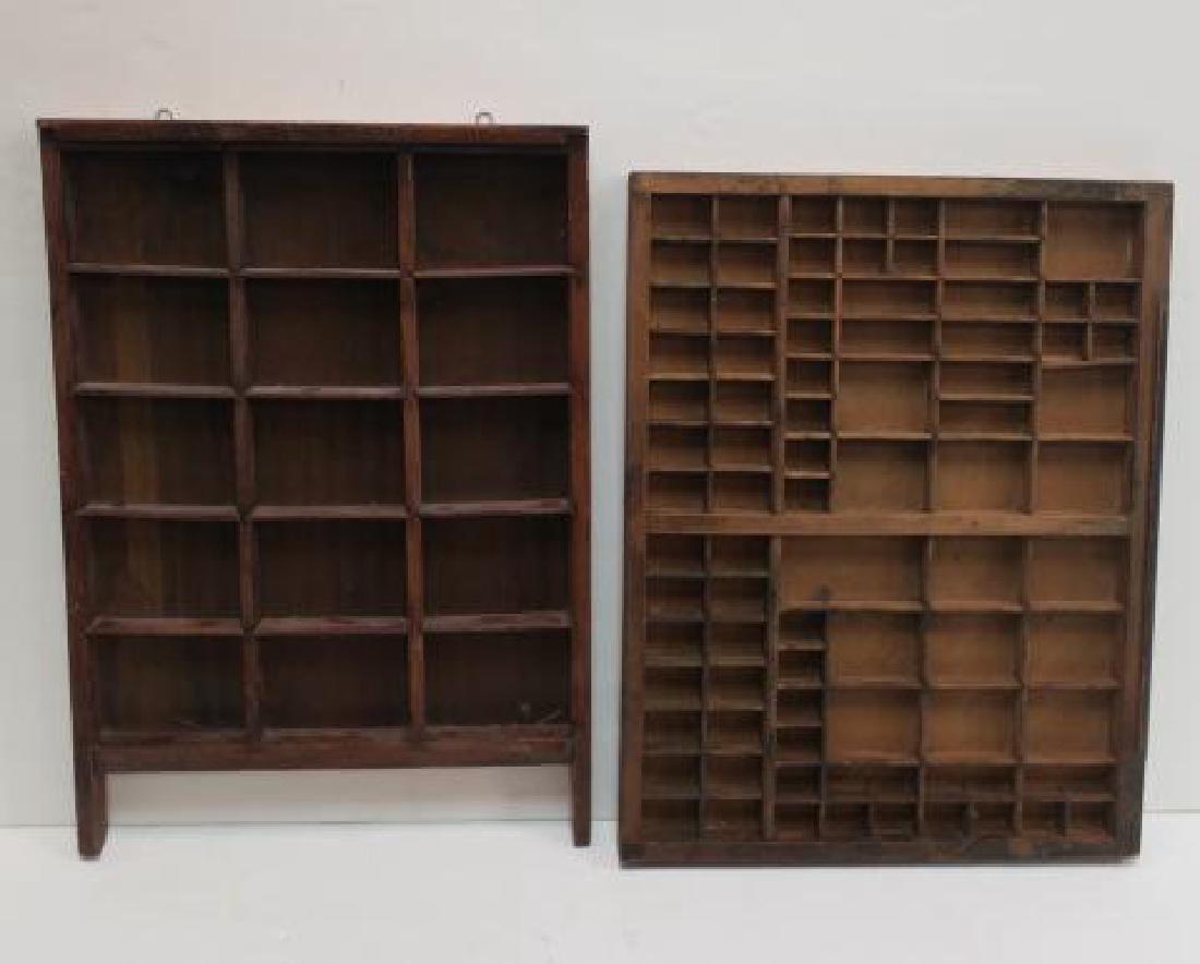 19th Century Primitives-Four Piece Lot: - 2
