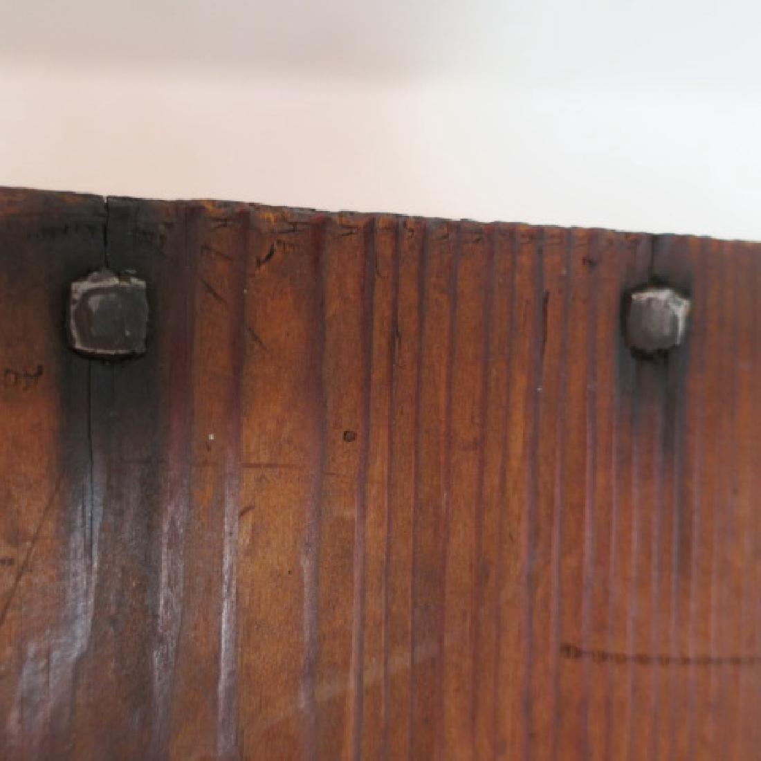 19th Century Primitives-Four Piece Lot: - 4
