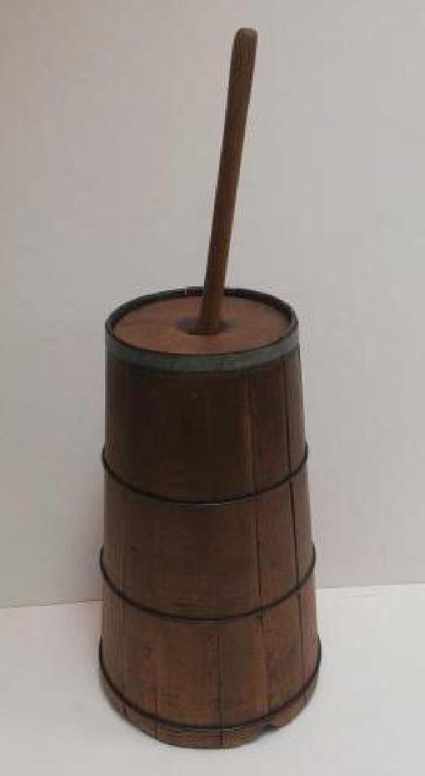 18th Century Butter Churn: