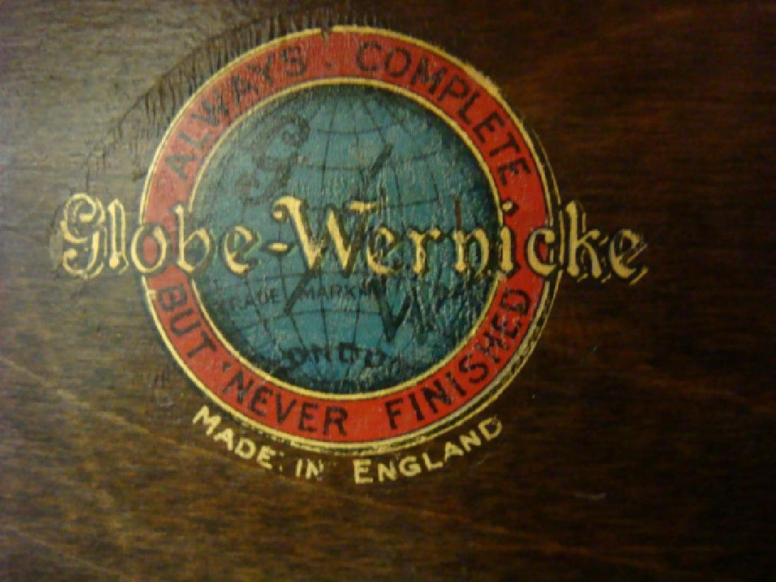 GLOBE WERNICKE 5 Stack Barrister Bookcase on Stand: - 3
