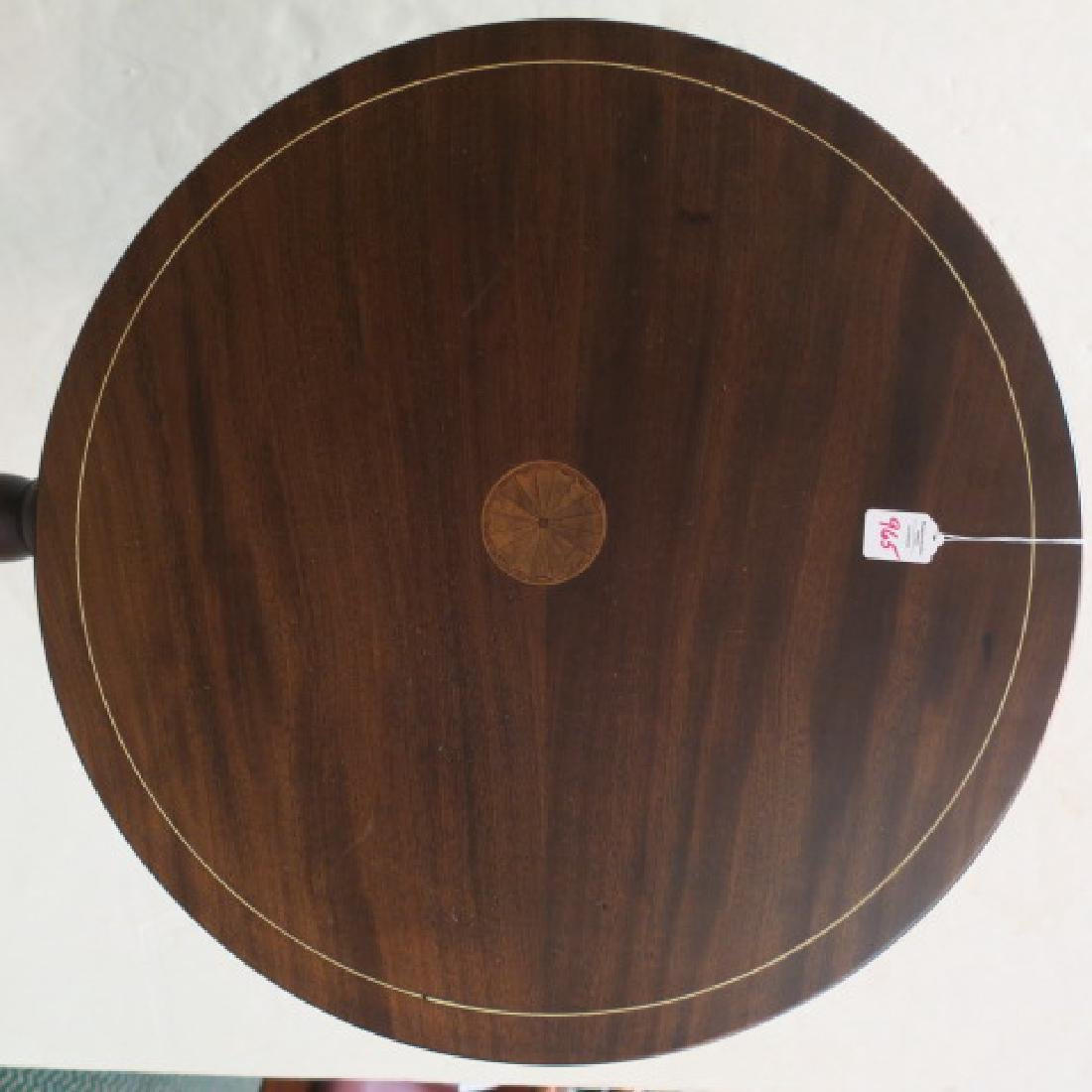 Small Round Tilt Top Table CA 1900:
