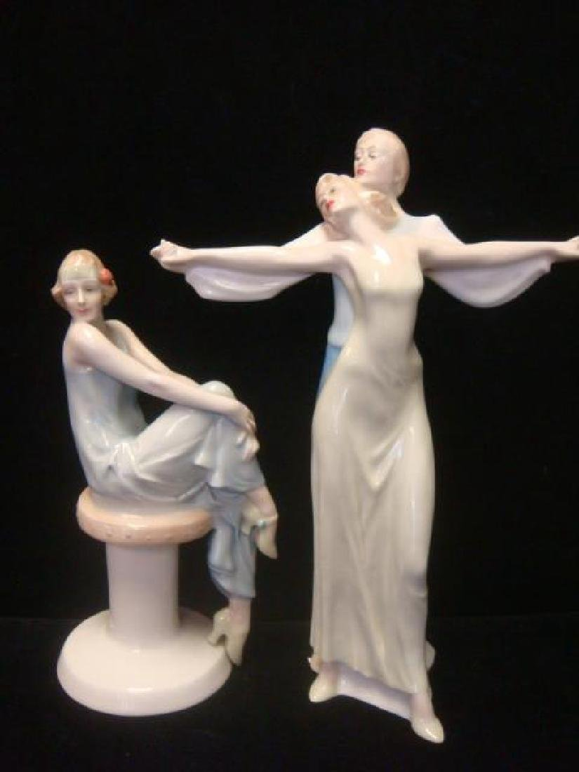 Two ROYAL DOULTON Reflections Figurines: