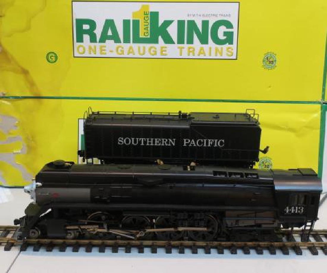 RAIL KING 70-3011-1 SP 4-8-4 GS-2 STEAM ENGINE/TENDER:
