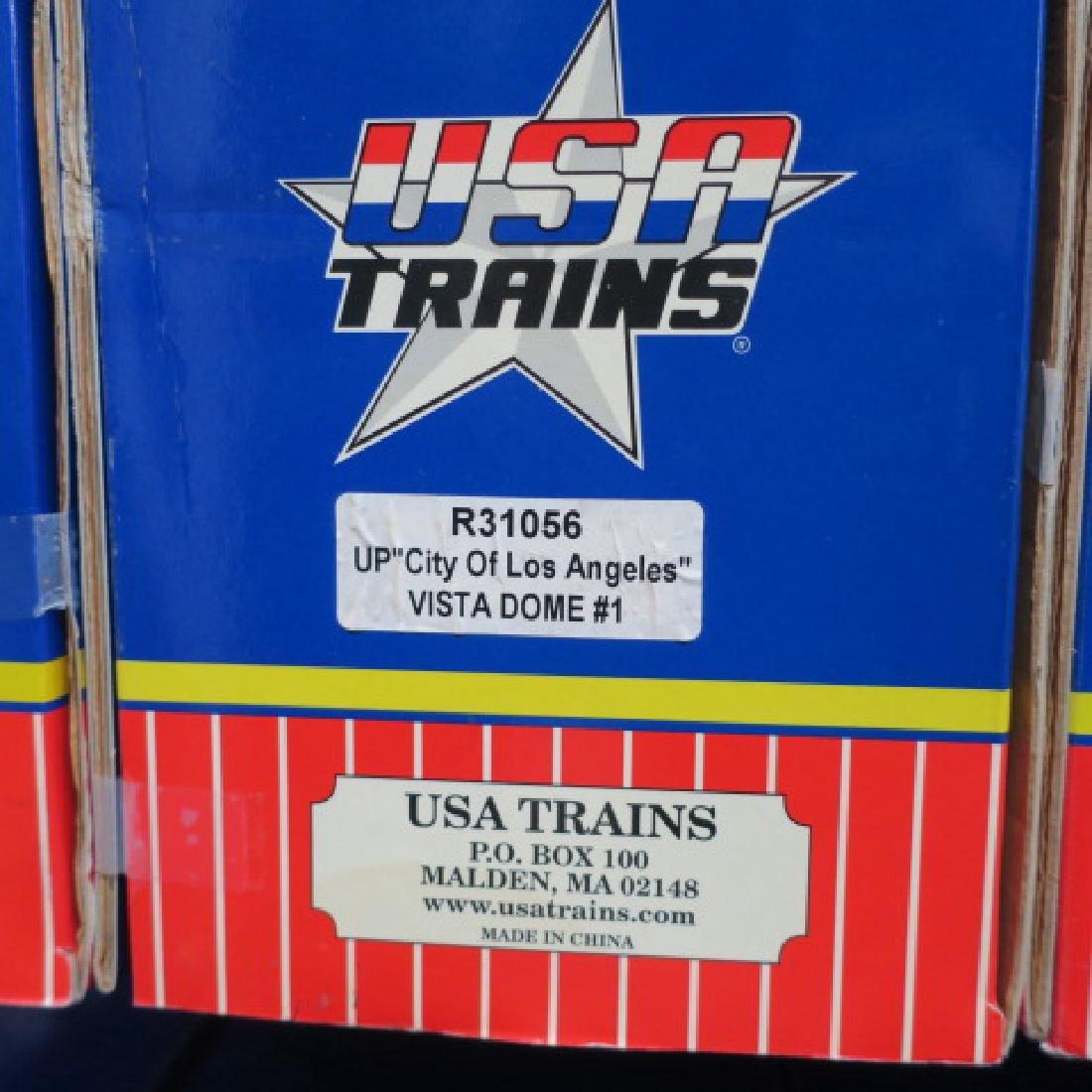 "USA TRAINS R31056, UP ""LOS ANGELES"" VISTA DOME #1 - 3"